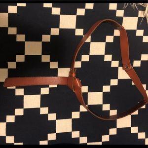 Anthropologie Tie Knot Belt
